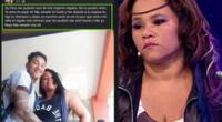 Yessenia Villanueva, hija del cómico Melcochita, le hizo una conmovedora promesa a su hijo fallecido hace unas horas.