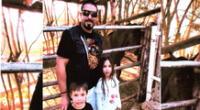 Padre Ricardo Fuentes Boggiano denuncia la desaparición de sus dos menores hijos