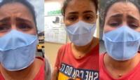 En su perfil de Instagram, Thalita Rocha denunció una situación trágica provocada por la falta de oxígeno en una unidad de salud en Manaos.