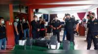 Sala situacional del Escuadrón Verde.