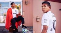 Edison Flores, volante de la selección peruana, fue noticia en las redes sociales | Foto: Instagram Edison Flores