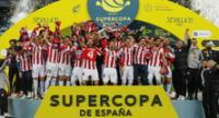 Por tercera vez el Bilbao se llevó el título de la Supercopa de España.