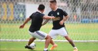 Hohberg desarrolló un trabajo intenso en su primer día en Sporting Cristal