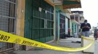 Feminicidio en San Juan de Miraflores. El agresor ha sido identificado como Wilber Flores Moltavan.