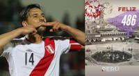 Claudio Pizarro se robó la atención en las redes sociales.
