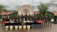incautan municiones y armamentos terrorista en Cusco