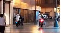 Dictan prisión contra asaltantes en moto en joyería del jirón de la Unión