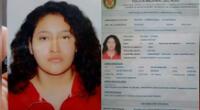 Adolescente desapareció tras salir de su casa