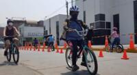 La Municipalidad de Lima brinda clases gratuitas de ciclismo.