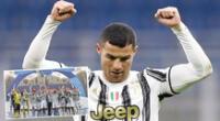 Cristiano Ronaldo anotó en el 2-0 de Juventus sobre Napoli y alcanzó otro récord   Foto: Juventus/composición