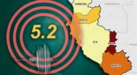 Quinto sismo ocurrió a las 7:27 de la noche 20 de enero, según reveló IGP.