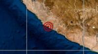 Sismo ocurrió a las 7:57 de la mañana este jueves 21 de enero, según IGP