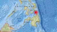 El foco se ha  localizado a unos 219 kilómetros al suroeste de Pondaguitan, informa el Servicio Geológico de EE.UU.