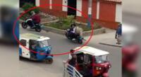 Dictan prisión contra asaltante  en moto de la agencia Interbak en Villa María del Triunfo