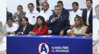 APP sobre candidata en líos penales.