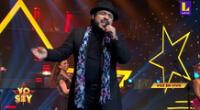 """Imitador de Juan Luis Guerra puso de pie al jurado tras cantar """"La cosquillita""""."""