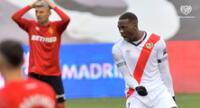 Luis Advíncula anotó el gol de descuento de Rayo Vallecano.