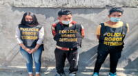 Los detenidos en una vivienda en el Callao