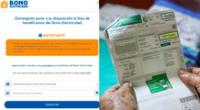 Conoce si tu hogar cumple con los requisitos para acceder al bono electricidad