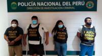Los detenidos permanecen en Dirincri
