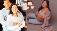 Ana Siucho protagoniza tierna sesión de fotos de su embarazo.