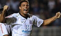 Ronaldo no pudo ganar  la  Copa Libertadores.