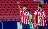 Luis Suárez sigue mostrando su sello goleador anotó dos tantos en la goleada 4-2 Cádiz.
