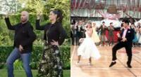 """El actor John Travolta y su hija protagonizan un comercial donde interpretaron la recordada coreografía que hizo con Olivia Newton-John en """"Grease""""."""