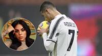 Cristiano Ronaldo y Georgina Rodríguez fueron noticia en las redes sociales.