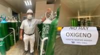 OxiRomero lleva 20 días sin poder regar balones de oxígeno.