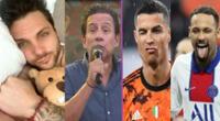 Ricardo Rondón troleó a Nicola Porcella al recordar que el 5 de febrero también nacieron Neymar y Cristiano Ronaldo.