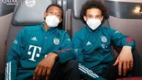 Jugadores del Bayern Múnich tuvieron que quedarse en avión.