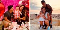 Mario Hart festejó los 5 meses de su hija Lara.