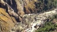 La ruptura de un glaciar en el Himalaya provocó la repentina crecida de un río, en el norte de India.