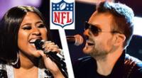 Eric Church y Jazmine Sullivan confirmados para que canten el himno de EE.UU.