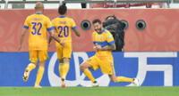 Gignac marcó de penal el gol de Tigres para derrotar al Palmeiras