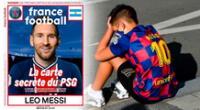 Lionel Messi es tentado por el PSG.