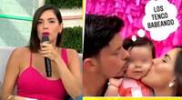 Korina Rivadeneira se quiebra en vivo al hablar de su bebé: