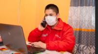Programa Juntos implementa orientaciones telefónicas durante cuarentena.