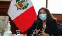 Violeta Bermúdez ofreció conferencia de prensa en el marco de la segunda ola del coronavirus.