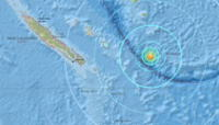 Un terremoto sacude Nueva Caledonia, en el Pacífico Sur. | Foto: USGS