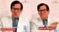 Ciro Maguiña, vicedecano del CMP, instó a los ciudadanos a vacunarse-