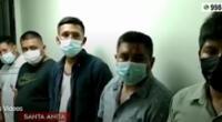 En total, cinco delincuentes fueron intervenidos por la PNP.