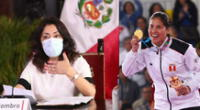 Alexandra Grande preocupada por la paralización del deporte peruano.