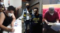 El Ministerio Público logró detener a cinco integrantes de la organización criminal