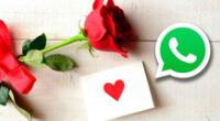 Llena de mensajes sentimentales tu WhatsApp este 14 de febrero.