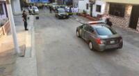 PNP llegó hasta la zona para empezar con las investigaciones. Imágenes de cámara de seguridad serán claves.