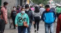 En Lima y Callao se habrían contagiado 2′700.707, representando un total de 25.3 % de la población en ambas regiones, según el INS.