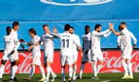 Real Madrid  ganó a Valencia y todavía sueña con el título.