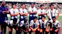 Alianza Lima y la vez que estrenó la camiseta blanquimorada | Foto: Difusión
